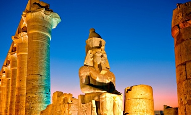 Luxor, too, is almost empty. Photograph: Jean-Pierre Lescourret/Getty Images/Lonely Planet Images